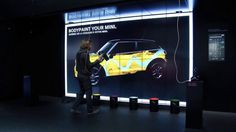 Agency: Meiré und Meiré & Meso Digital Interiors Location: Paris Auto Show 2012, BMW World Munich In July 2012 MINI commissioned us with an interactive exhibit to 'enable the visitor to feel and experience the brand values of MINI'. Two months later, at the Paris Motor Show, we premiered an interactive 'powerwall', displaying a larger-than-life-size MINI. With the typical MINI twinkle in the eye, the car itself comes to life and behaves in a fun way, turning and bouncing, presenting ...