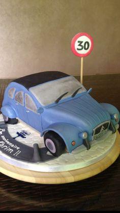 Citroën Cake | Wisha's Cakes
