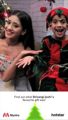 Wish you a Merry Christmas and may this festival bring abundant joy and happiness in your life! #MohsinKhan #ShivangiJoshi #yrkkh #Kartik #Naira #Kaira #Shivin #TeamKaira ❤😘