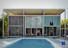 Philip Hiss Residence/ The Umbrella House. 1954. Lido Shore, Sarasota, Florida. Paul Rudolph
