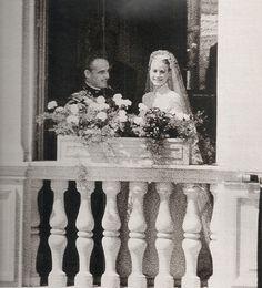 Grace Kelly,a fairytale´s princess. Princesa Grace Kelly, Grace Kelly Wedding, Royal Princess, Princess Photo, Princess Diana, Patricia Kelly, Kelly Monaco, Prince Rainier, Monaco Royal Family