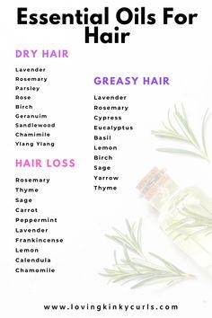 Lavender Oil For Hair, Hair Oil For Dry Hair, Rosemary Oil For Hair, Best Hair Oil, Bergamot Essential Oil Uses, Peppermint Essential Oil Uses, Geranium Essential Oil, Hair Essentials, Living Essentials