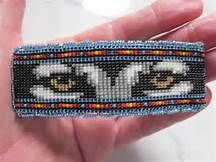 beaded wolf eyes - Yahoo Image Search Results