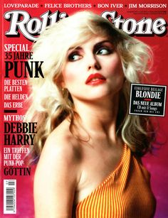 Rolling Stone cover - Blondie http://www.wotyougot.com/category/rolling-stones/