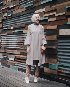 have a nice tuesday tunik naritacollection hijab xx 684969424550055246 Muslim Women Fashion, Modern Hijab Fashion, Abaya Fashion, Modest Fashion, Fashion Outfits, Kebaya Muslim, Muslim Dress, Hijab Dress, Casual Hijab Outfit