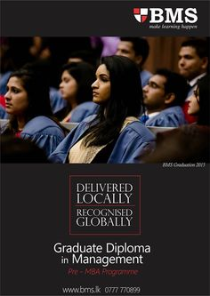 Graduate Diploma in Management  Graduate Diploma in Management