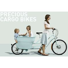 cargo bike...pretty sure i could fit my dog in this... :)