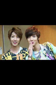 Youngmin and Kwangmin <3 Boyfriend