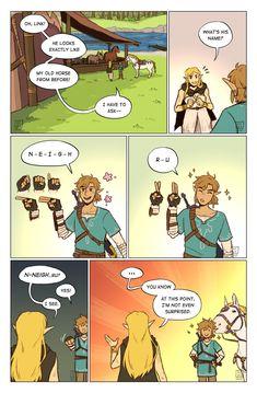 The Legend Of Zelda, Legend Of Zelda Memes, Legend Of Zelda Breath, Horse Puns, Gamer Humor, Fandoms, Breath Of The Wild, Link Zelda, Cartoon Games