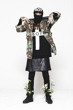 BOY LONDON #menswear http://www.creativeboysclub.com/