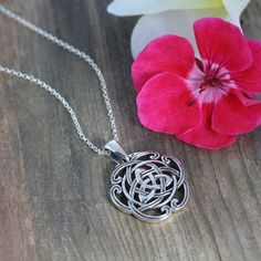 Celtic Triquetra Jewelry Celtic Triquetra Knot by LifeOfSilver, $35.80