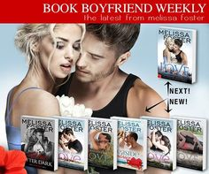 Your new BOOK BOYFRIEND WEEKLY is here! Are you ready for more yummy hunky heroes? https://www.facebook.com/MelissaFosterAuthor/photos/a.240828595952231.52591.240064542695303/1033048240063592/?type=3&theater