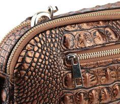 Luxury crocodile leather