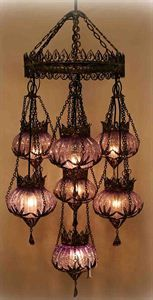 Ottoman Chandelier | I want to shop in this shop ♥