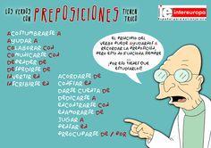 LOS VERBOS CON PREPOSICIÓN