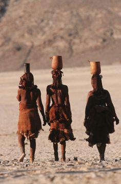 Excelentes fotos de la tribu Himba,Namibia