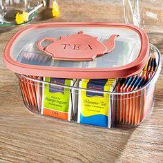 Snips Tea Bag Holder 3l Pink * Click on the image for additional details.