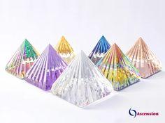 Pirâmides de Luz Ascension Trazem energias positivas para mais harmonia, plenitude, riqueza, prosperidade e sucesso