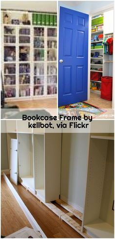 Bookcase Frame by kellbot, via Flickr , Bookcase Frame by kellbot, via Flickr... ,  #Bookcase #Flickr #Frame #kellbot Ikea Billy Bookcase Hack, Frame, Outdoor Decor, Home Decor, Picture Frame, Decoration Home, Room Decor, Frames, Interior Design