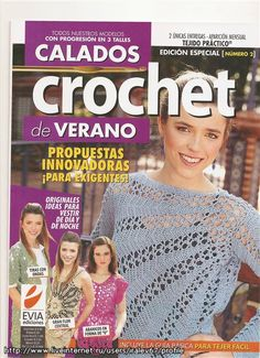 Tejido Práctico Crochet CALADOS № February 2010 (Knitting, different techniques). Comments: LiveInternet - Russian Service Online Diaries