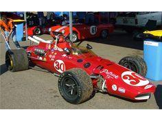 1966 Team Gurney Eagle Indy car - 1