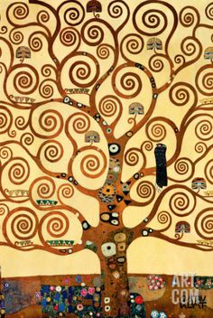 The Tree of Life, Stoclet Frieze, c.1909 Art Print by Gustav Klimt at Art.com