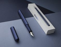 stilform is raising funds for KOSMOS ink - Magnetic Fountain Pen on Kickstarter! A minimalist fountain pen with a magnetic self-aligning cap made from titanium or aluminium. Cool Office Supplies, Pen Collection, Pencil Design, Best Pens, Pen And Watercolor, Fountain Pen Ink, Pen And Paper, Writing Instruments, Clean Design
