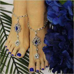 09d658b0a192d KELLY barefoot sandals - royal blue