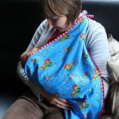 Borstvoeding geven in het openbaar - Hoe maak je een borstvoedingsdoek
