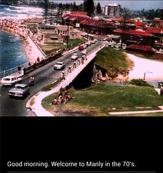 Manly Manly Sydney, Avalon Beach, Historical Images, Live In The Now, North Shore, Aerial View, Nice Things, Palm Beach, Old Photos