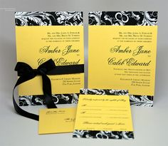 130 Best Black And Yellow Wedding Inspiration Images