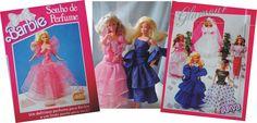 Barbie Sonho de Perfume e Glamour de 1989