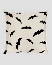 "Bats Decorative Pillow 18"""
