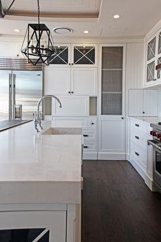 Caesarstone | Calacatta Nuvo | #white Modern Kitchen Awesome Design