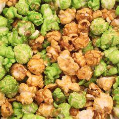green popcorn  #iloveavocadosforhalloween
