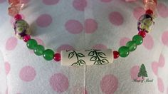 Cherry Blossom Time Necklace by ForestofJewels on Etsy, $68.00