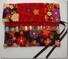 Crochet hook case tutorial