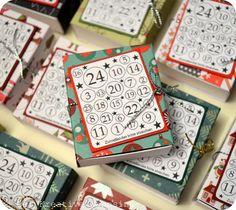Der kreative Wahnsinn: Mini Adventskalender & Anleitung