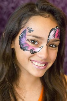 "Face Painting ""Pretty Girl Mask"""