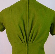 Vintage Detail: 1950s Wool Dress and Jacket