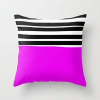 Throw Pillow featuring Sally by Gonpart