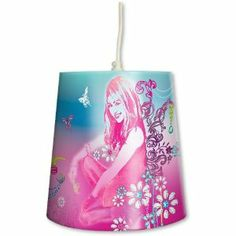 Disney Hannah Montana Glam Star Tapered Shade Lighting by Linenideas. $17.44. Product Measurements:- 23 x 24 x 24 cm 9.1 x 9.4 x 9.4 Inch Official Licensed Product