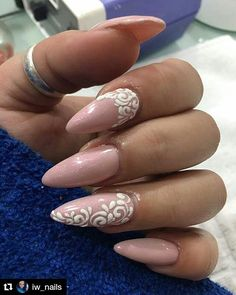 #Repost @iw_nails with @repostapp ・・・ My #beautiful #pink #beige #vintage #nails