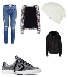 """Casual date"" by kelz8399 ❤ liked on Polyvore featuring Frame, Converse, RVCA, Wildfox and Ragdoll"