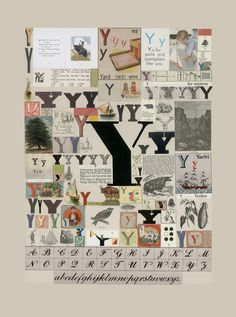 Buy art online- The Letter Y- signed limited edition silkscreen print by Peter Blake from CCA Galleries Childrens Alphabet, Alphabet Book, Alphabet Letters, The Letter Y, Peter Blake, Collage Artists, Book Projects, Silk Screen Printing, Typography Letters