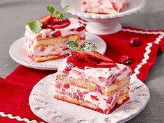Erdbeertiramisu - tolles Dessert in der Erdbeersaison. Über 359 Bewertungen und für köstlich befunden. Mit ► Portionsrechner ► Kochbuch ► Video-Tipps!