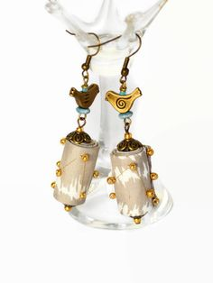 BOHO TRIBAL EARRINGS hippie earrings boho by ChrisHearnDesigns