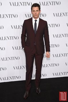 He's not usually my cup of tea, but I guess I am a sucker for a pretty man in a skinny suit. James Marsden at the Valentino Sala Bianca 945 Event