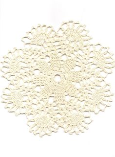 Crochet doily lace doilies table decoration by DoilyWorld on Etsy