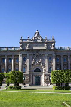 Riksdagen, Stockholm, Sweden. | The Swedish Parliament